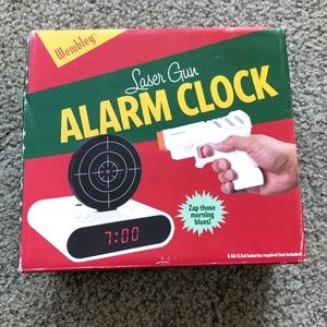 ⏰ Laser Gin Alarm Clock